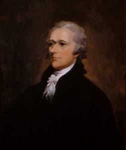 Alexander Hamilton by John Trumbull, 1806